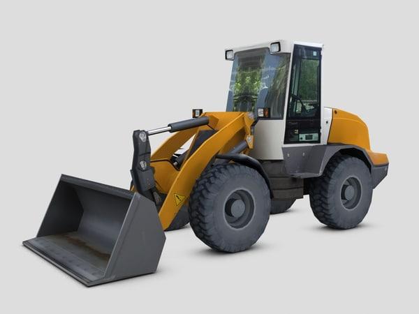 max small wheel loader