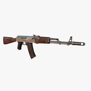 weapon kalashnikov ak-74 assault rifle max
