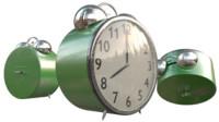 3d alarm clock model