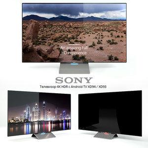 3d tv sony 4k hdr model