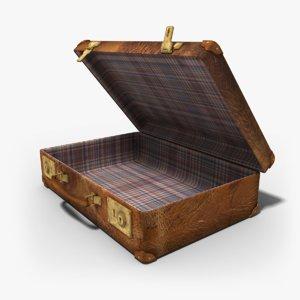 3d case suitcase
