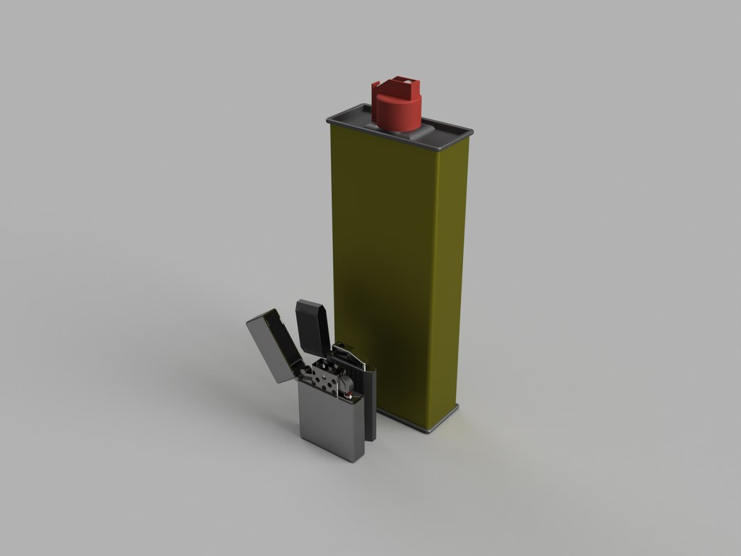 pack lighter 3d model