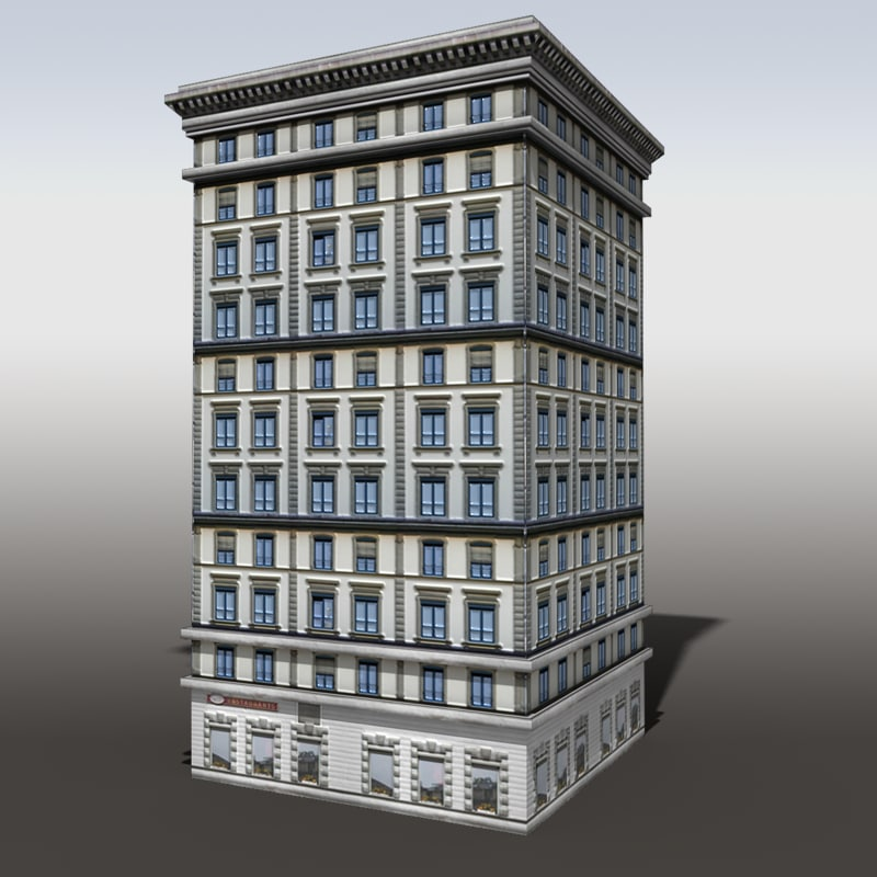 modeled building max