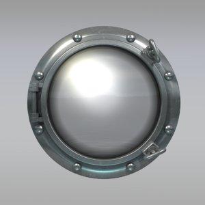 3d max porthole port hole