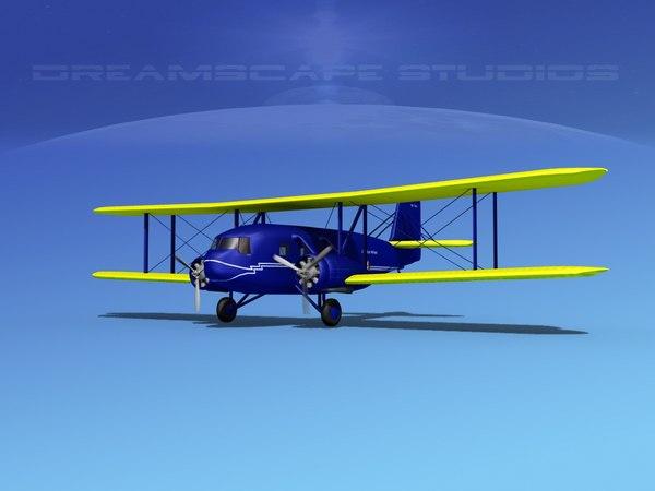 propellers curtiss condor 3d max