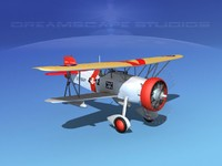 3d curtiss fighter navy goshawk