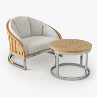 max furniture set summit lounge chair