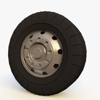 3d bus wheel