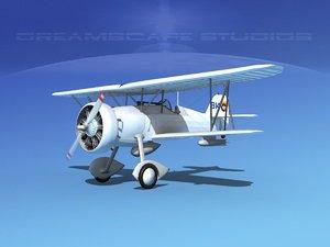 curtiss fighter goshawk 3d 3ds