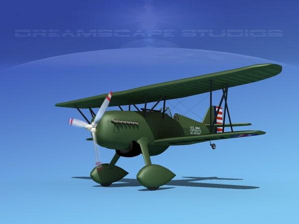max curtiss hawk fighter p-6