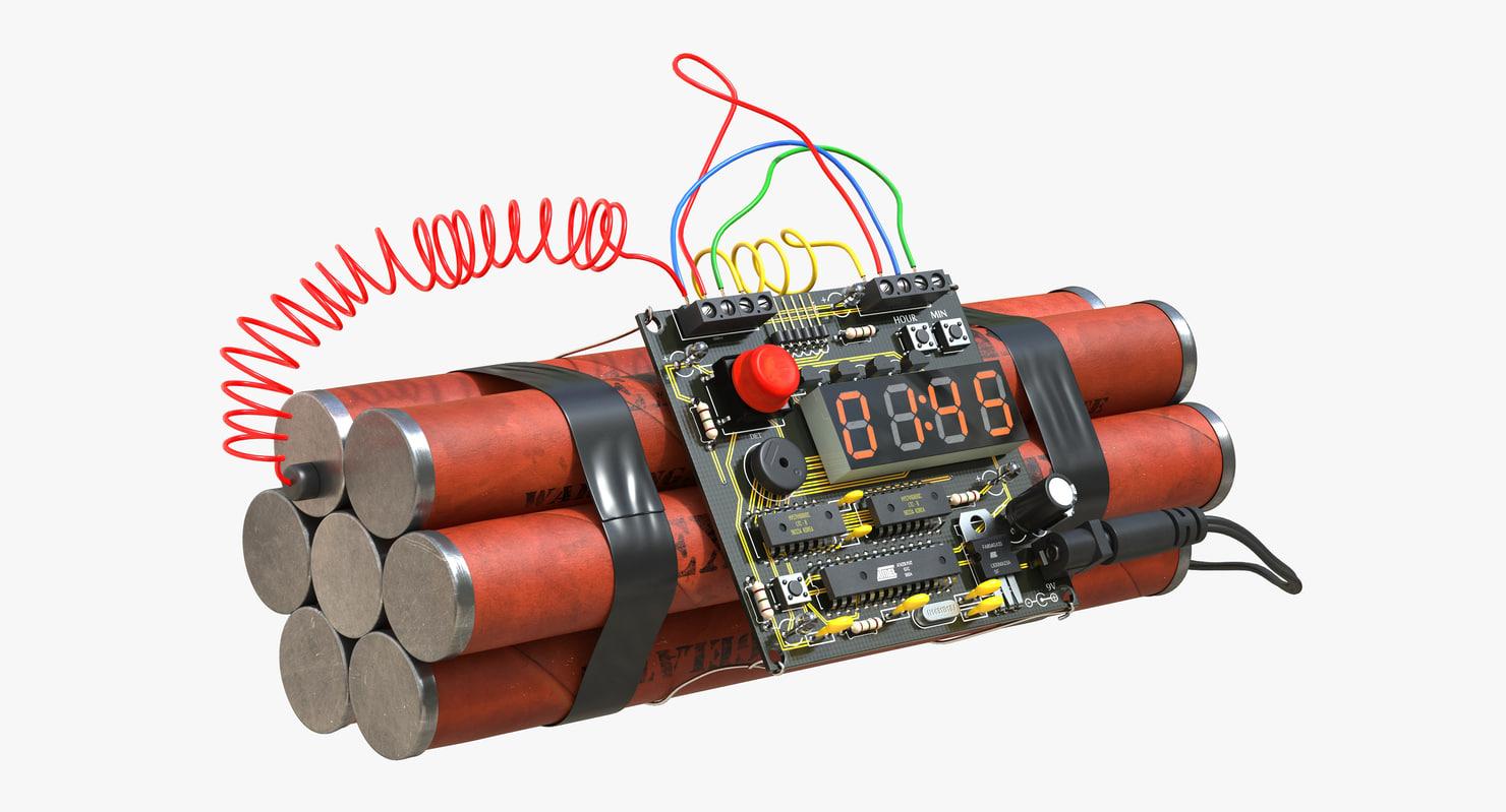 3d bomb time