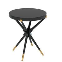 3d model black lacquer table