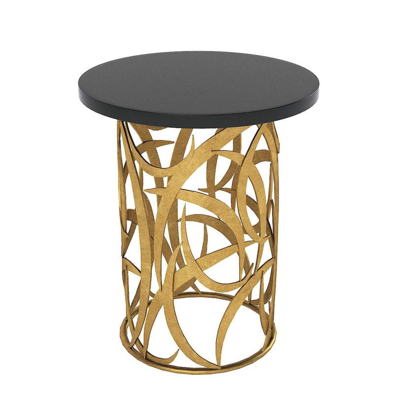 porta romana table 3d model