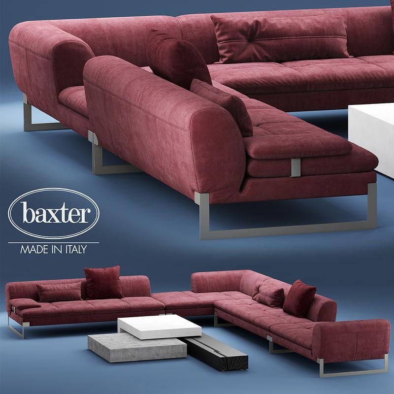 3d model baxter viktor corner
