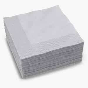 max cocktail napkins white