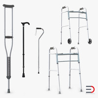 mobility aids 3d max