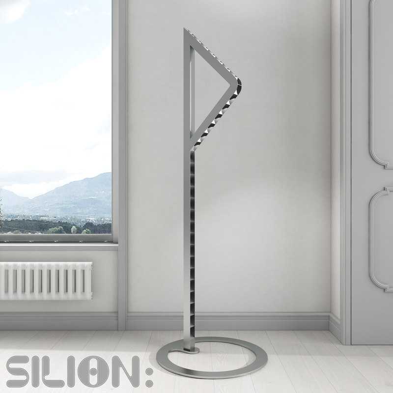 modern metal floor lamp max
