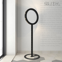 3d modern metal floor lamp model