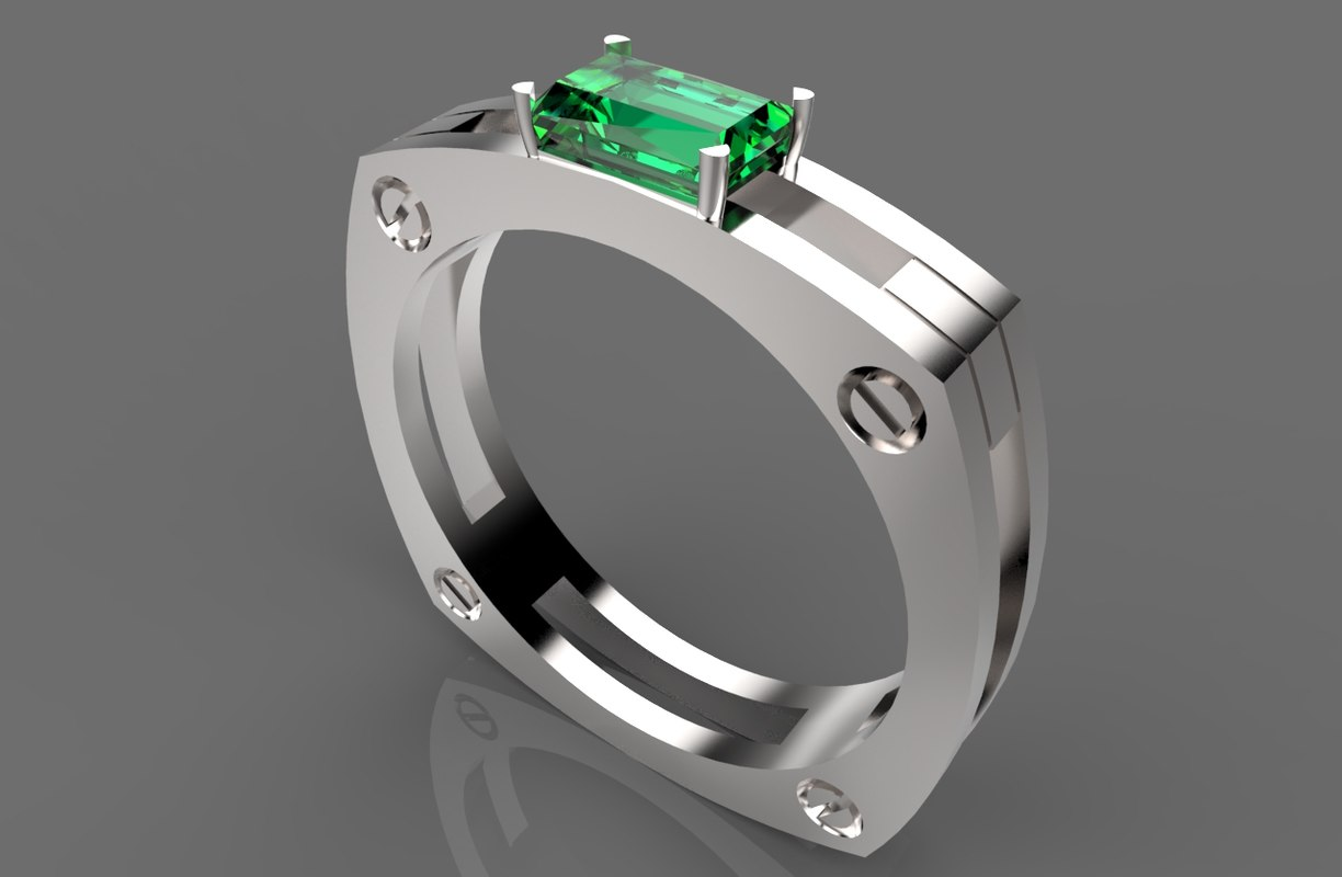 3ds gold ring