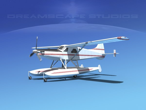 3d model dehavilland havilland dhc-2 beaver