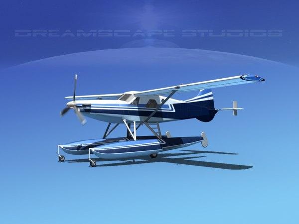 dehavilland beaver turboprop 3d max