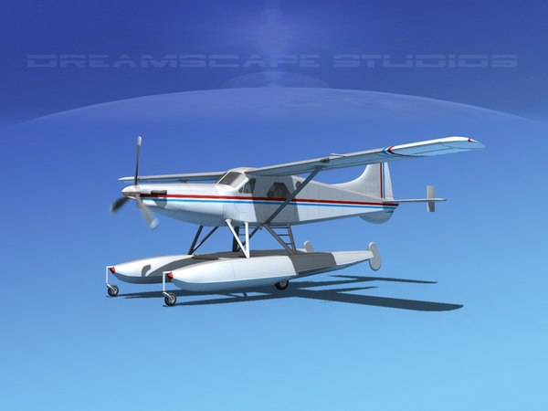 3d model dehavilland beaver turboprop