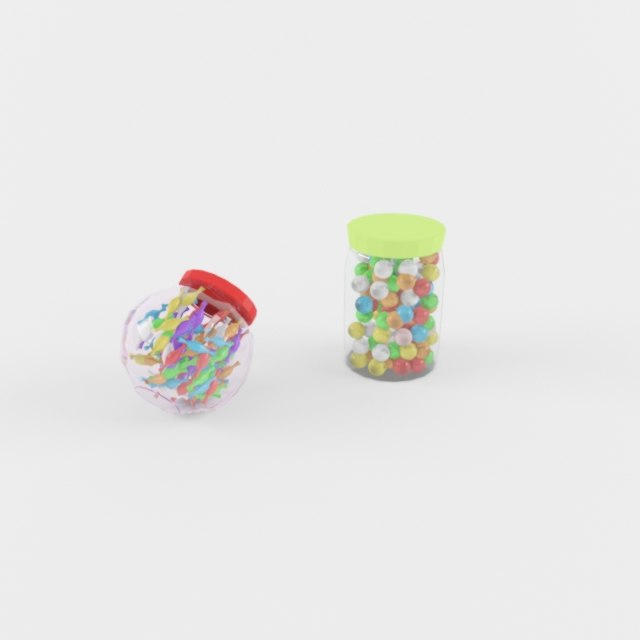 max candy decoration pots