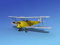 tiger moth 3d lw