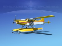 dehavilland beaver turboprop 3d dwg