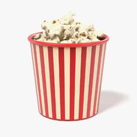 popcorn cup 3d 3ds