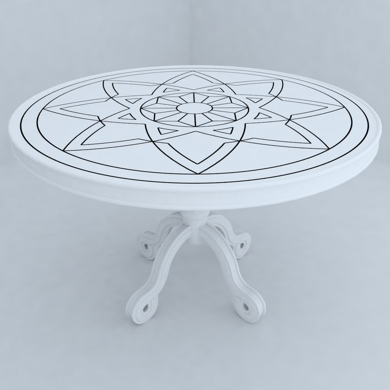 3d table designs