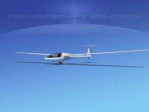 aircraft dg-400 3ds
