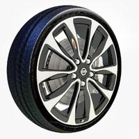 nissan maxima wheel max
