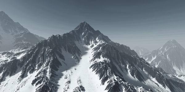 3d max mountain terrain