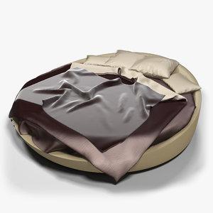 3d max bed cloth