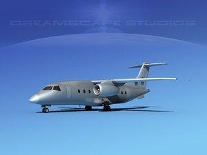 3d obj airlines 328jet jet aircraft