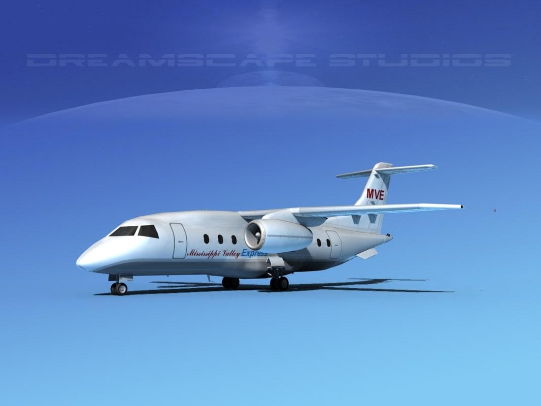 3d 328jet jet aircraft air model