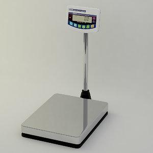 3d scale platform model