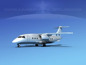 airlines 328jet jet aircraft 3d max