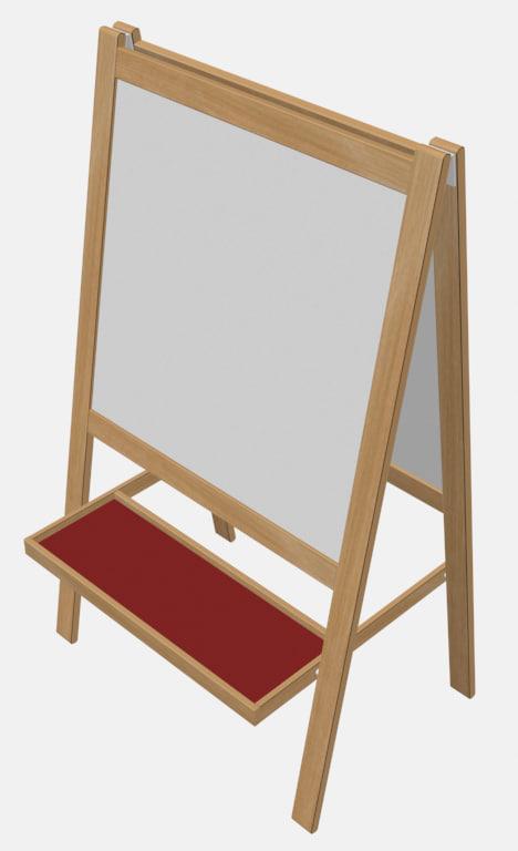drawing board 3d model