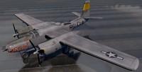 douglas a-26b invader bomber 3d 3ds