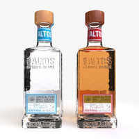 altos tequila 3d max