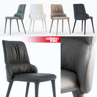 3d model cattelan italia ginger chair