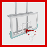 3d basketball rim
