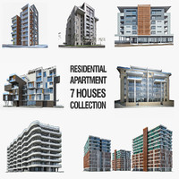 Residential Buildings Collection - 7 Pack