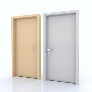 c4d door room
