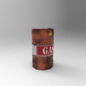gas drum max