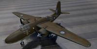 3d model douglas havoc mk-2 raaf
