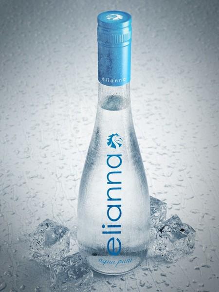 c4d realistic water bottle