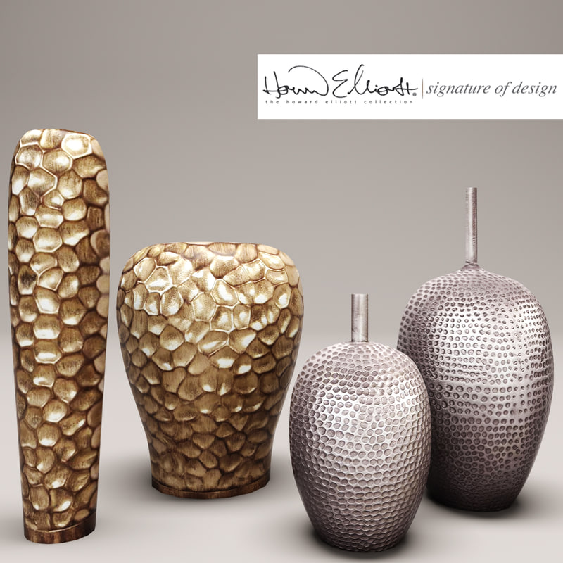 3d model vases howard elliott